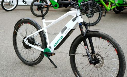 Электровелосипед без цепи
